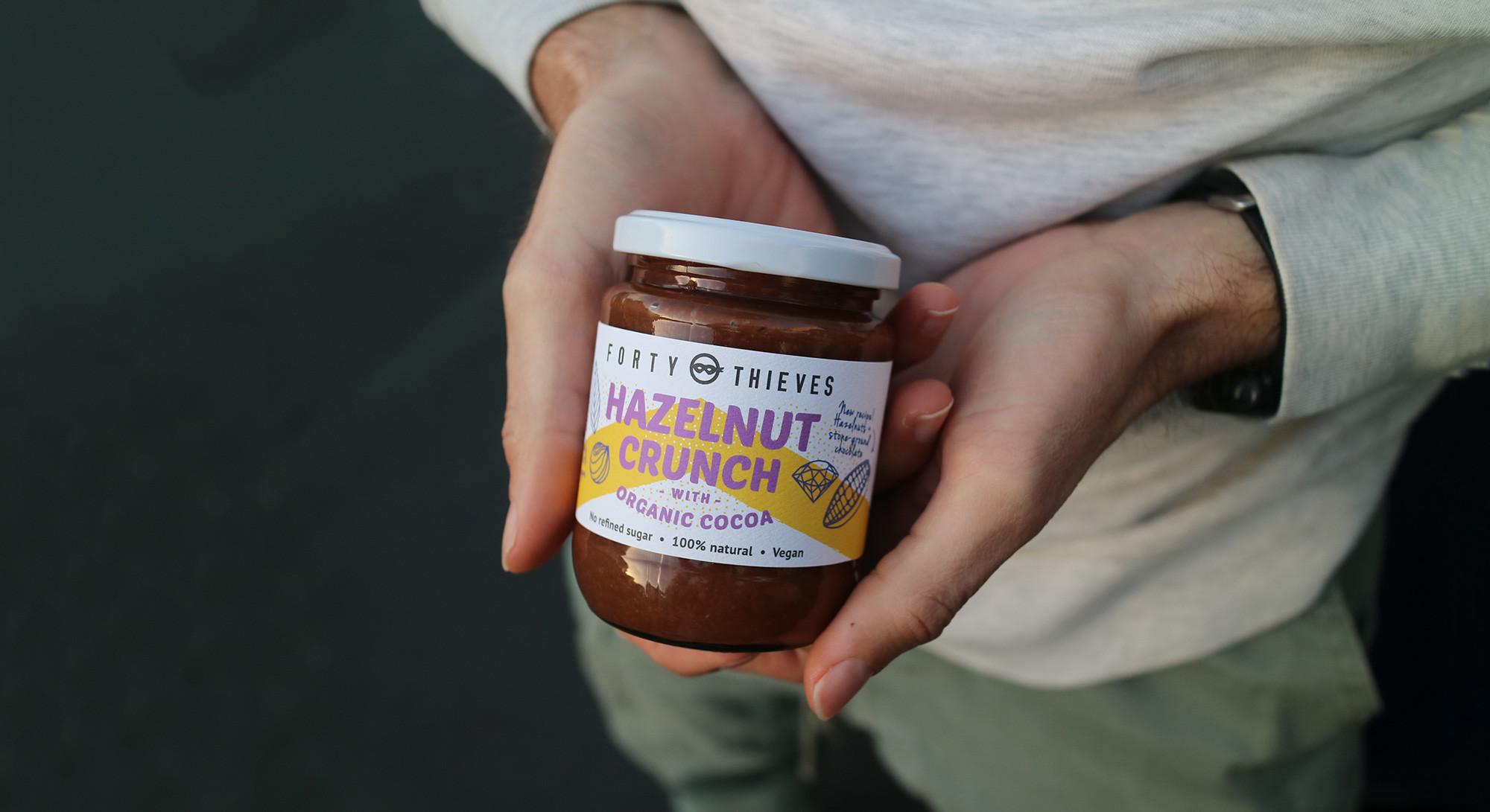 Hazelnuts + Organic Chocolate